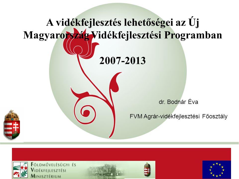 """""""New Hungary"""" Rural Development Programme 2007-2013 A vidékfejlesztés lehetőségei az Új Magyarország Vidékfejlesztési Programban 2007-2013 AaAa dr. Bo"""