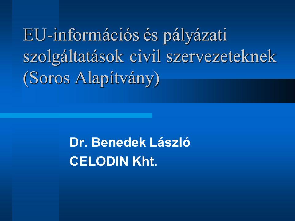 A nyertesek területi megoszlása 3SZ Kurt Lewin Aranyhomok Celodin Zala Göcsej D-A.Teleház DDRF Etnikai Fórum NSZOSZ, Nimfea, Rés, Cserehát, ENYFT, SzocioE.