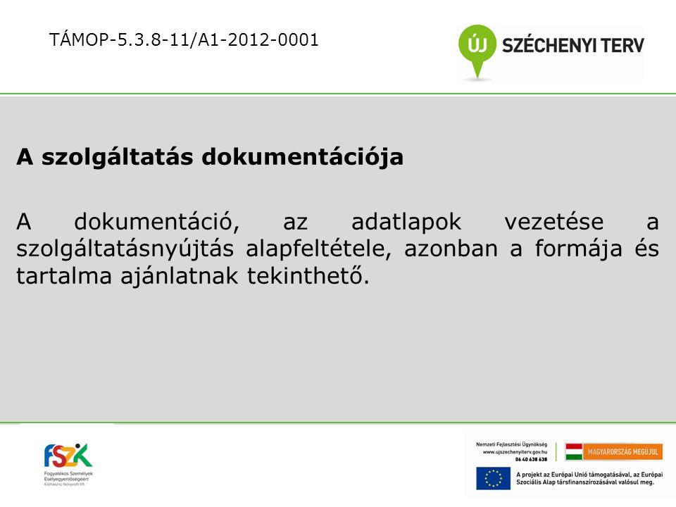 Az akkreditált foglalkoztatónak nyújtott szolgáltatások: szolgáltatási kosár összeállítása a profil alapján konzultáció az átvezetéshez kapcsolódó együttműködés tartalmáról, megvalósításáról együttműködési megállapodás előkészítése és megkötése a szolgáltató és az akkreditált foglalkoztató között TÁMOP-5.3.8-11/A1-2012-0001
