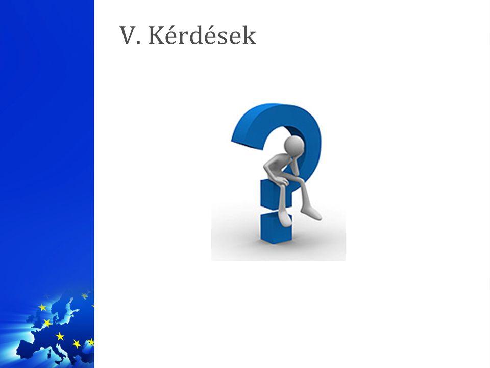 V. Kérdések
