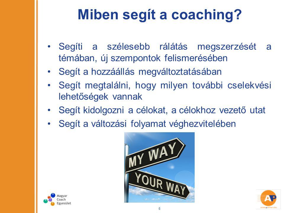 Miben segít a coaching.