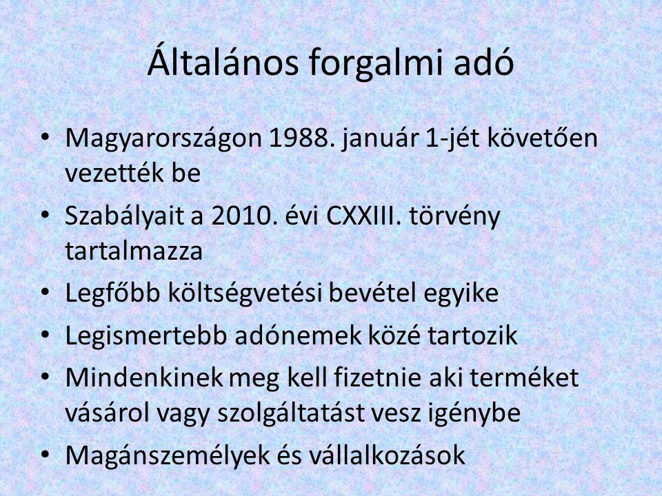 Magyarországon 1988. január 1-jét követően vezették be Szabályait a 2010.