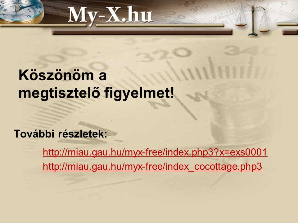 INNOCSEKK 156/2006 Köszönöm a megtisztelő figyelmet.