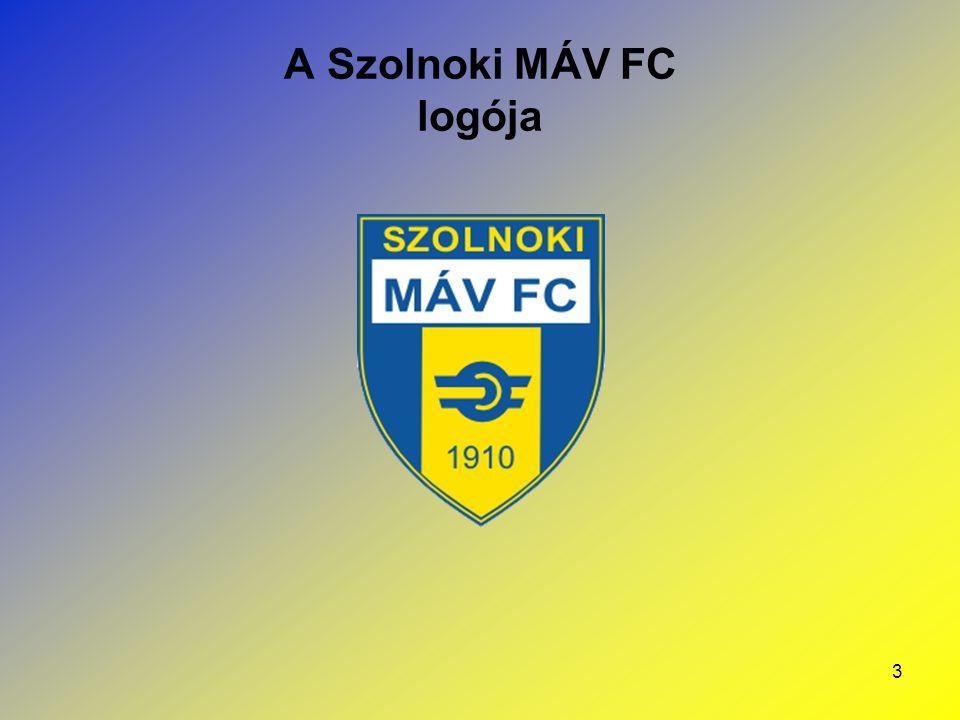 3 A Szolnoki MÁV FC logója