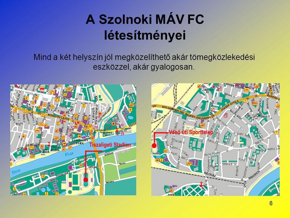 7 A Szolnoki MÁV FC Kft.