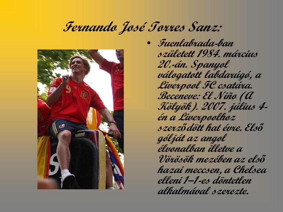 Fernando José Torres Sanz: Fuenlabrada-ban született 1984.