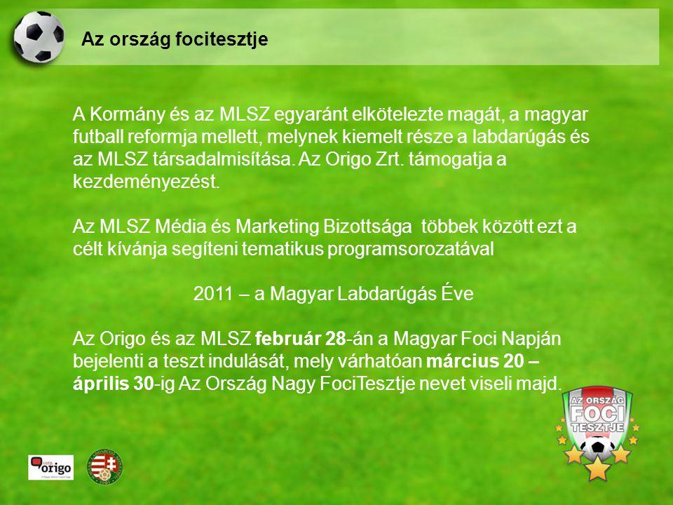 A Kormány és az MLSZ egyaránt elkötelezte magát, a magyar futball reformja mellett, melynek kiemelt része a labdarúgás és az MLSZ társadalmisítása.