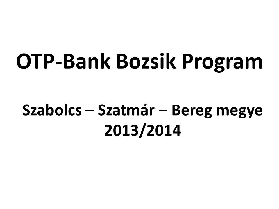 Szabolcs – Szatmár – Bereg megye 2013/2014 OTP-Bank Bozsik Program