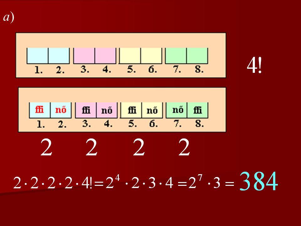 A telefonos feladat megoldása A-nak 4-gyel oszthatónak kell lennie, tehát A háromszög szögei: