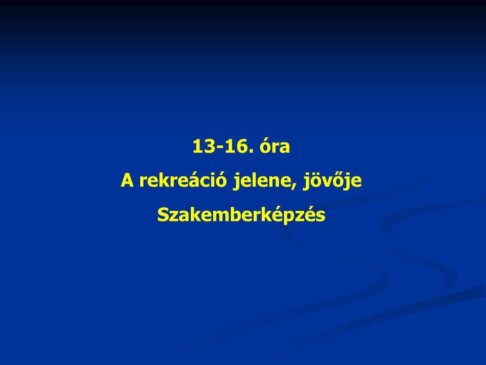 Hazai helyzet Magyar Szabadidősport Szövetség(MSZSz) 1989-ben alakult, 1999 óta közhasznú szervezetként működik.