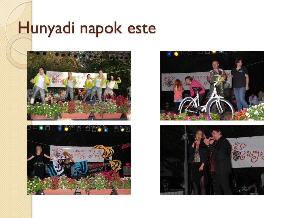 Hunyadi napok Hunyadivárosi Labdarúgó Kupa 2012.A kupa, az érmek és az ajándékokat kaptak: 1.