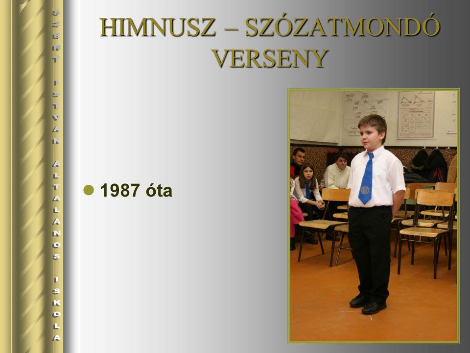 HIMNUSZ – SZÓZATMONDÓ VERSENY 1987 óta