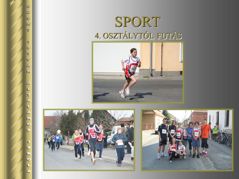 SPORTSPORT 4. OSZTÁLYTÓL FUTÁS