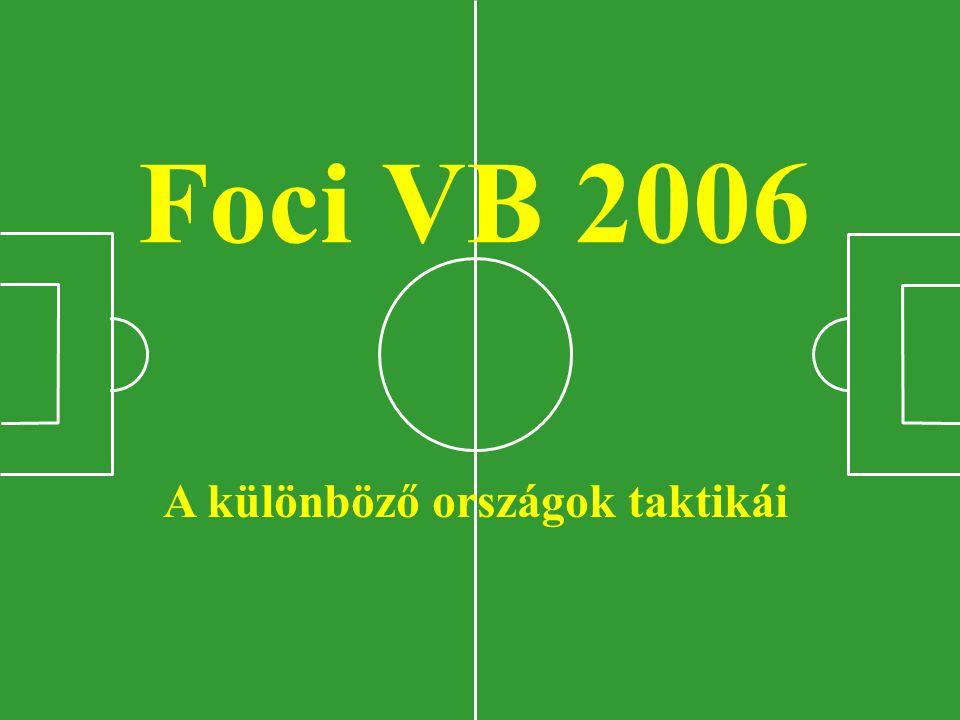 Foci VB 2006 A különböző országok taktikái