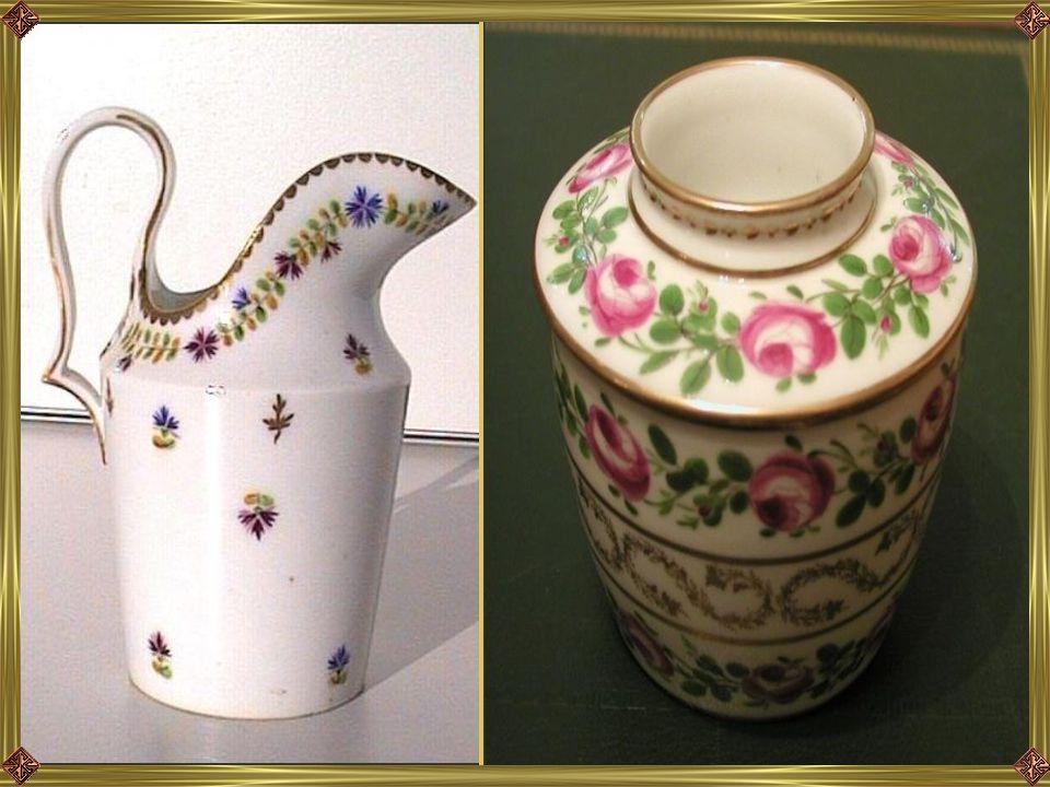 A következő fotókon a Porcelánmúzeumban őrzött 18 századi porcelánokból látható néhány