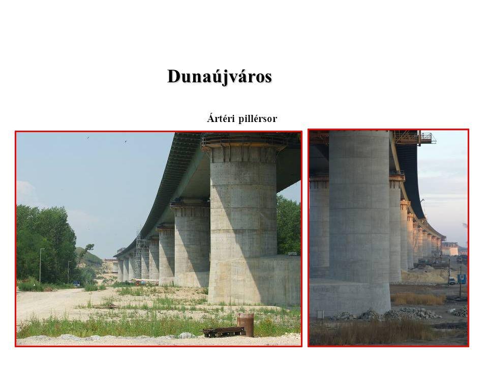 Dunaújváros Ártéri pillérsor