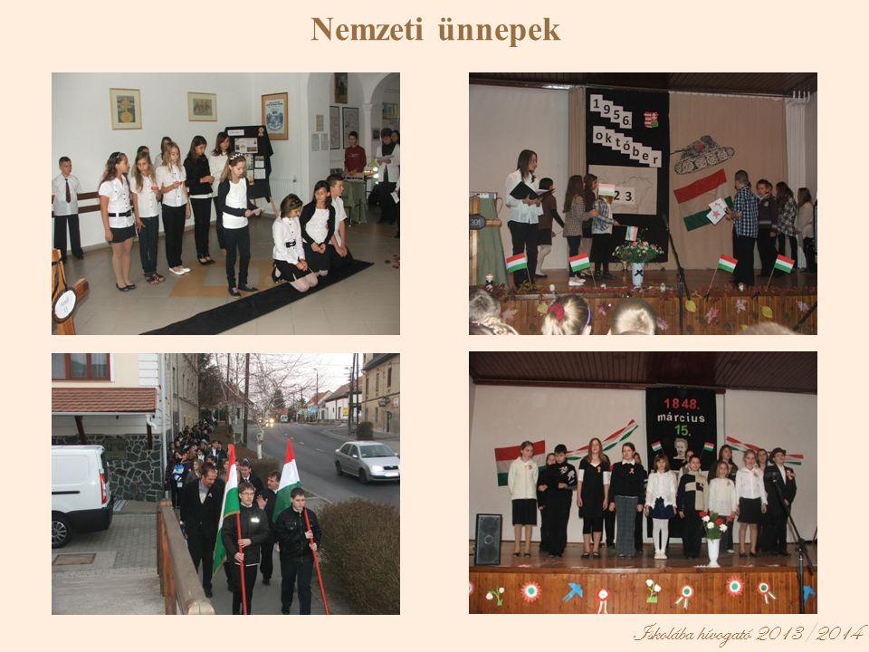 Iskolába hívogató 2013/2014 Nemzeti ünnepek