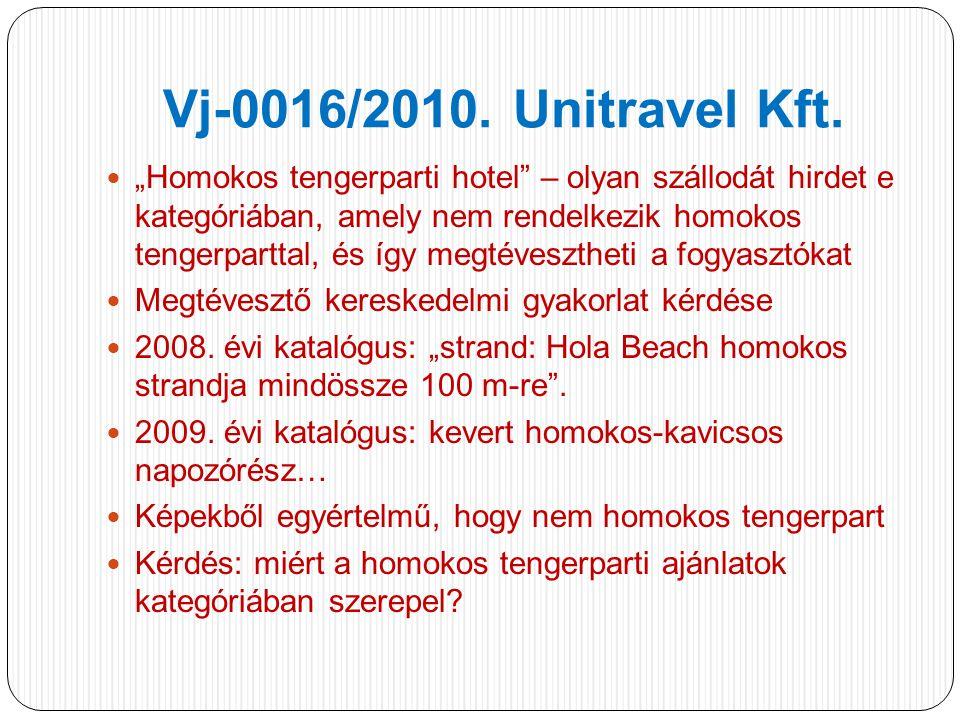 Vj-0016/2010.Unitravel Kft.