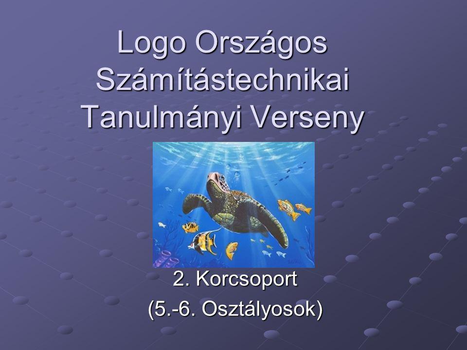 Logo Országos Számítástechnikai Tanulmányi Verseny 2. Korcsoport (5.-6. Osztályosok)