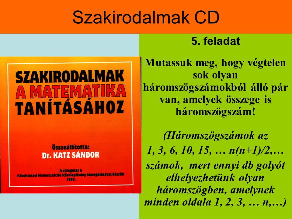 Szakirodalmak CD 5.