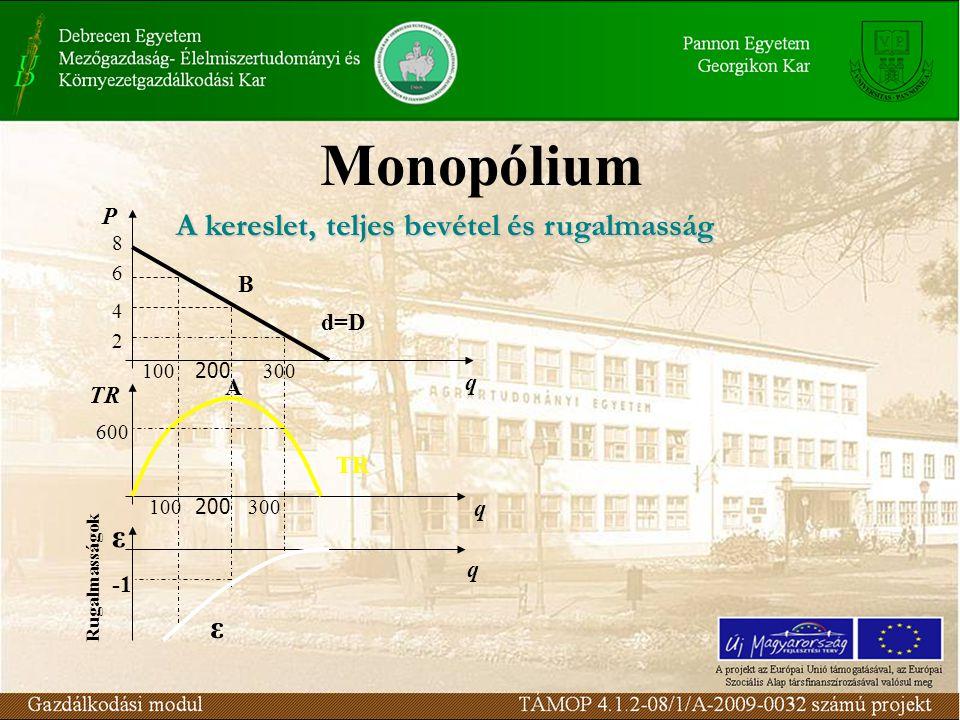 Aszimmetrikus Stackelberg-duopólium (Heinrich von Stackelberg, 1938) Kiegészítés a Cournot feltételekhez: –Követő vállalat (Cournot-feltételek) –Vezető vállalat: ismeri a másik vállalat reakció függvényét q * 1 =1/2 (a-c)/b q * 2 =1/4 (a-c)/b Az iparági output: Q=q * 1 +q * 2 = 3/4 (a-c)/b (a kompetitív output ¾-e) Klasszikus oligopólium modellek