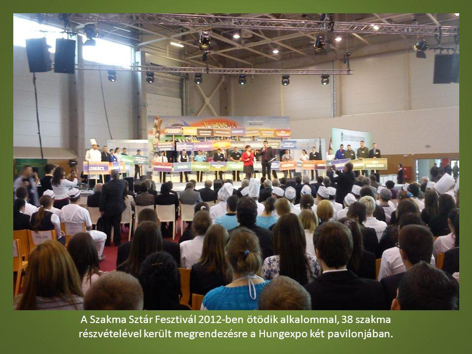 A Szakma Sztár Fesztivál 2012-ben ötödik alkalommal, 38 szakma részvételével került megrendezésre a Hungexpo két pavilonjában.