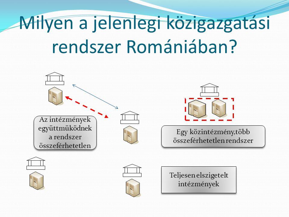 Milyen a jelenlegi közigazgatási rendszer Romániában.