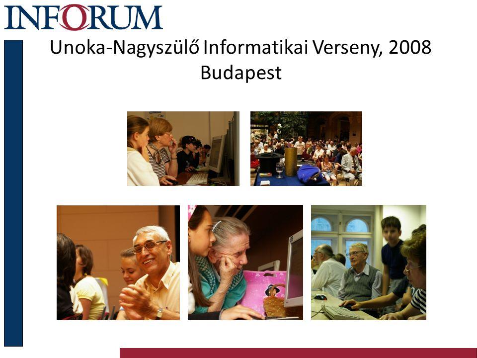 Unoka-Nagyszülő Informatikai Verseny, 2008 Budapest