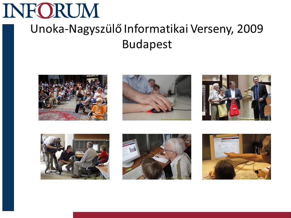 Unoka-Nagyszülő Informatikai Verseny, 2009 Budapest
