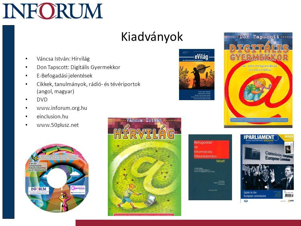 Felhívások, kampányok 2000, Magyar Informatikai Charta 2008, e-Befogadási Mozgalom: civil szervezetek és az Országgyűlés mozgósítása Országgyűlési Határozat: – 2008.