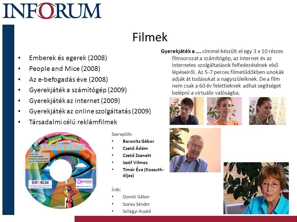 Szakmapolitikai kezdeményezések 1999.