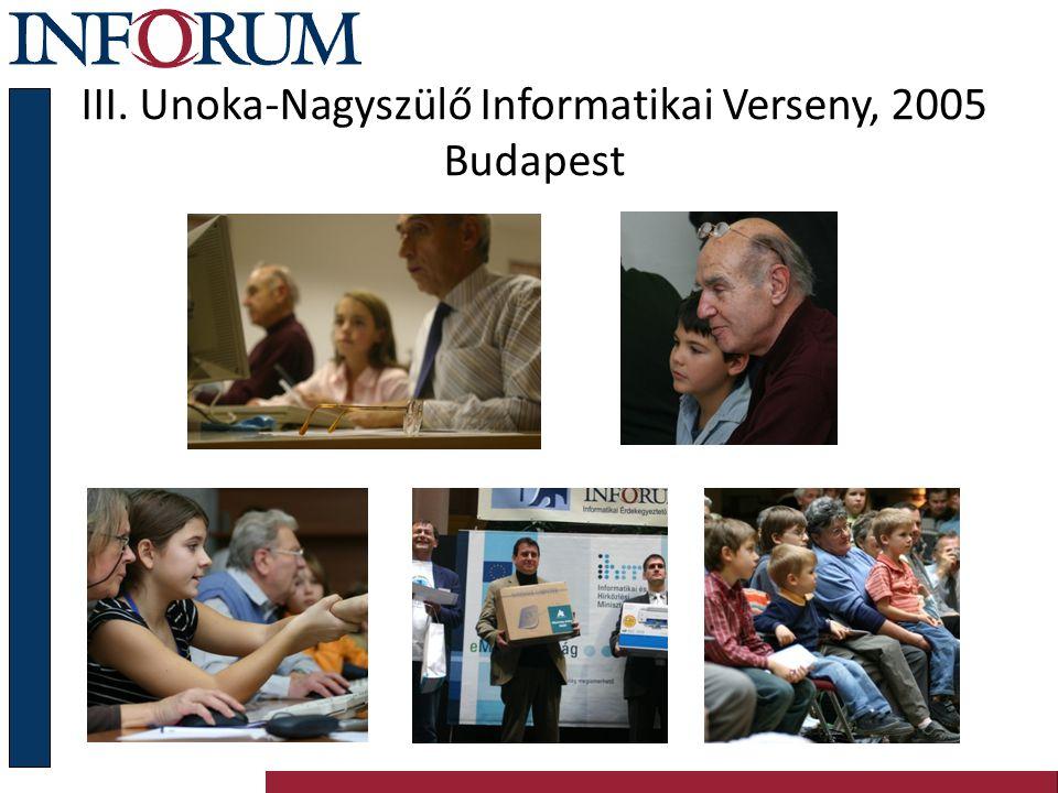 A közös feladataink Az internet penetráció növelése A legjobb gyakorlatok átvétele, használata és cseréje E-Befogadás: életminőség növelése digitális szolgáltatásokon keresztül Kormányzati információk elérésének fejlesztése Informatikai és Inforum export növelése Profittermelő vállalkozások támogatása Kooperáció: egyetemek, civil szervezetek, állami intézmények, vállalkozások között Közös kelet-európai fellépés Európa 3 régiója közötti szakadék növekedése ellen (a határ: az Elba folyó, illetve az Alpok és a Pireneusok)