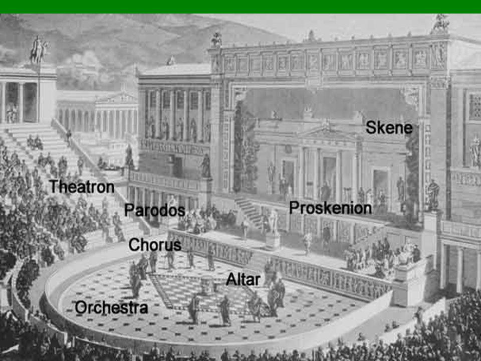 a komédia A perzsa háborúk utánra tehető a megjelenése Az archón előbb két, majd három komikus kar költségét fedezte torz álarcok, aktualitások, erőteljes gesztusok nyelv – köznapi a komédia megteremtője: Kratinos