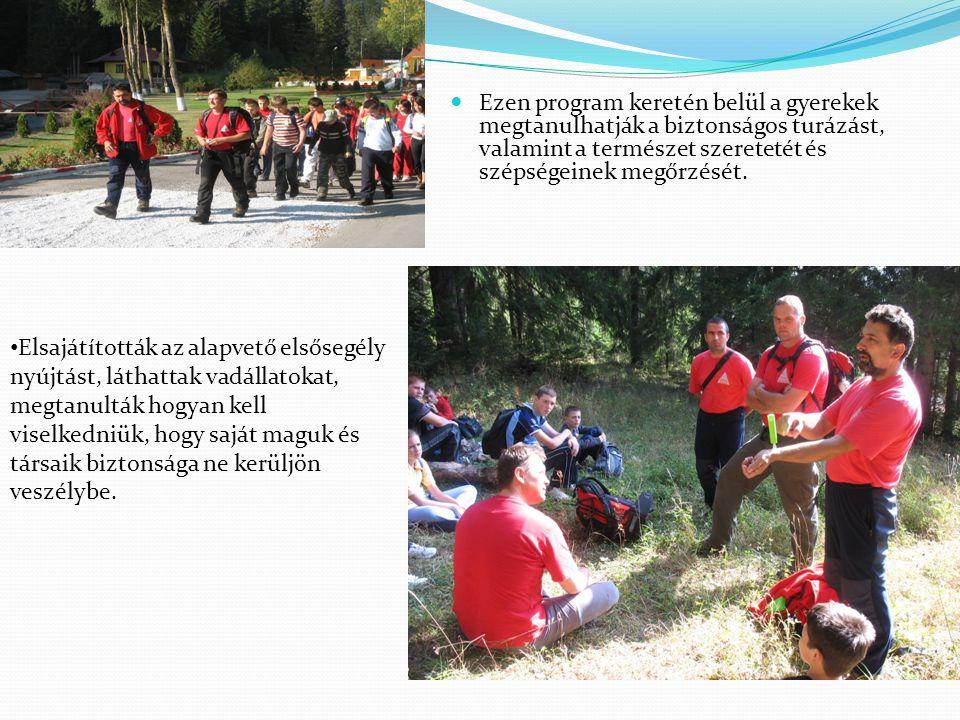 A program folytatásaként tavaly tájékozódási versenyt szervezünk V-VIII.