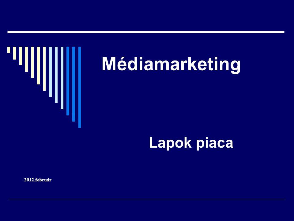 Médiamarketing Lapok piaca 2012.február