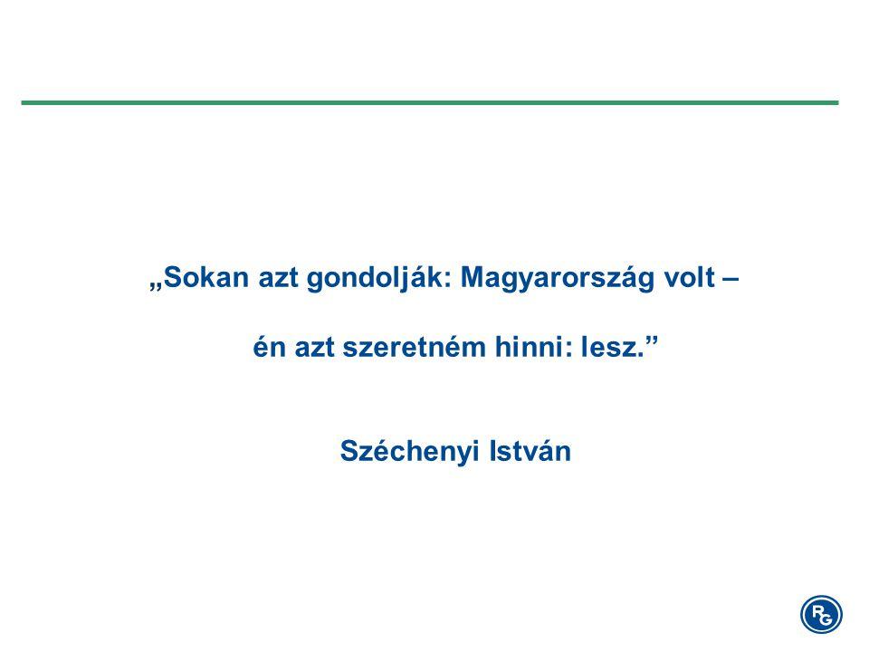 """""""Sokan azt gondolják: Magyarország volt – én azt szeretném hinni: lesz. Széchenyi István"""