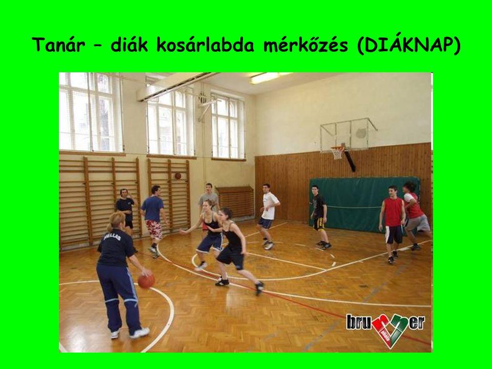 Tanár – diák kosárlabda mérkőzés (DIÁKNAP)