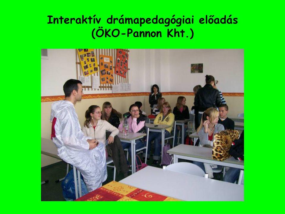 Interaktív drámapedagógiai előadás (ÖKO-Pannon Kht.)