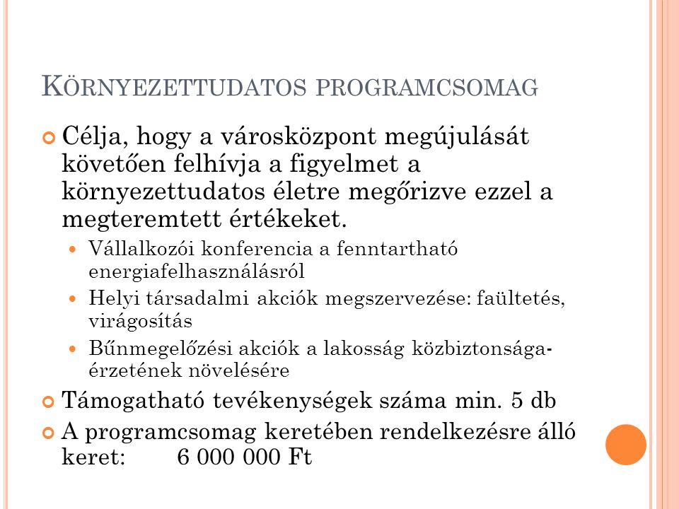 """T ÁMOGATHATÓ TEVÉKENYSÉGEK """"S ZOCIÁLIS VÁROSREHABILITÁCIÓ ÉS LAKOSSÁGI INTEGRÁCIÓ J ÁSZFÉNYSZARU FEJLŐDÉSÉÉRT JFSZ-5.1.1/SZVR-2012 1 PÁLYÁZÓ ÖSSZESEN MAXIMUM 3 000 000 FT TÁMOGATÁSBAN RÉSZESÜLHET"""