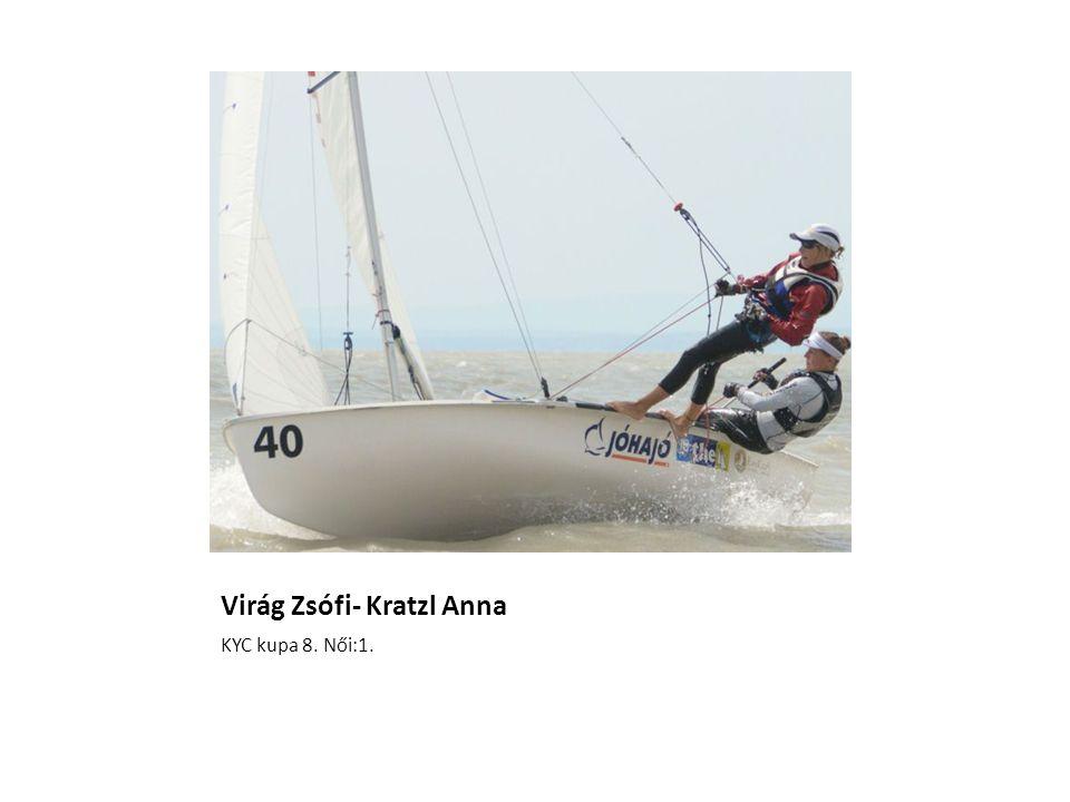 KYC kupa 8. Női:1. Virág Zsófi- Kratzl Anna