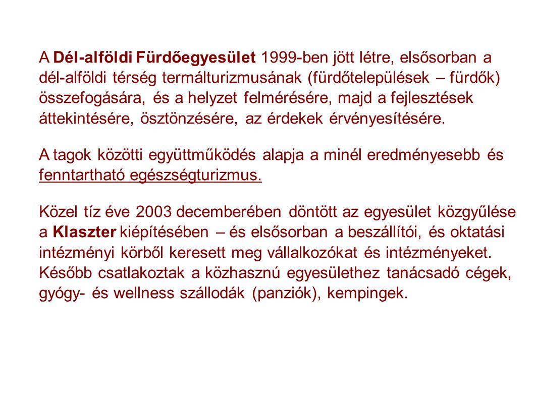 Magyarország kínálata A kínálat fő elemei: 150 minősített gyógyvíz 40 gyógyfürdő 100 gyógyszálló (panzió), wellness szálló, kb fele gyógyszálló 13 gyógyhely 5 gyógybarlang 4 gyógyiszap