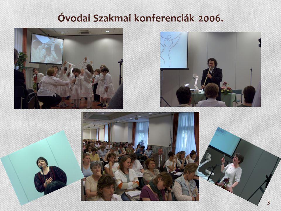 4 Óvodai Szakmai konferenciák 2007.