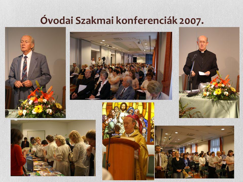 5 Óvodai Szakmai konferenciák 2007. Szent Erzsébet Év alkalmából kiállítás albumokból