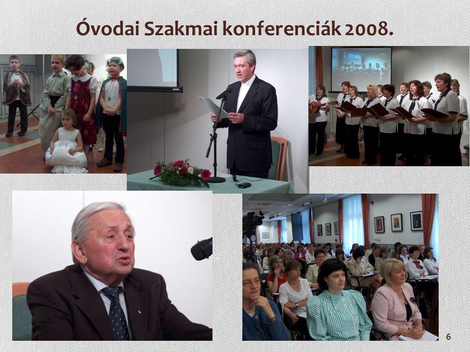 6 Óvodai Szakmai konferenciák 2008.