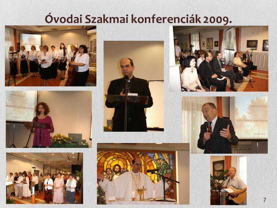 8 Óvodai Szakmai konferenciák 2010.