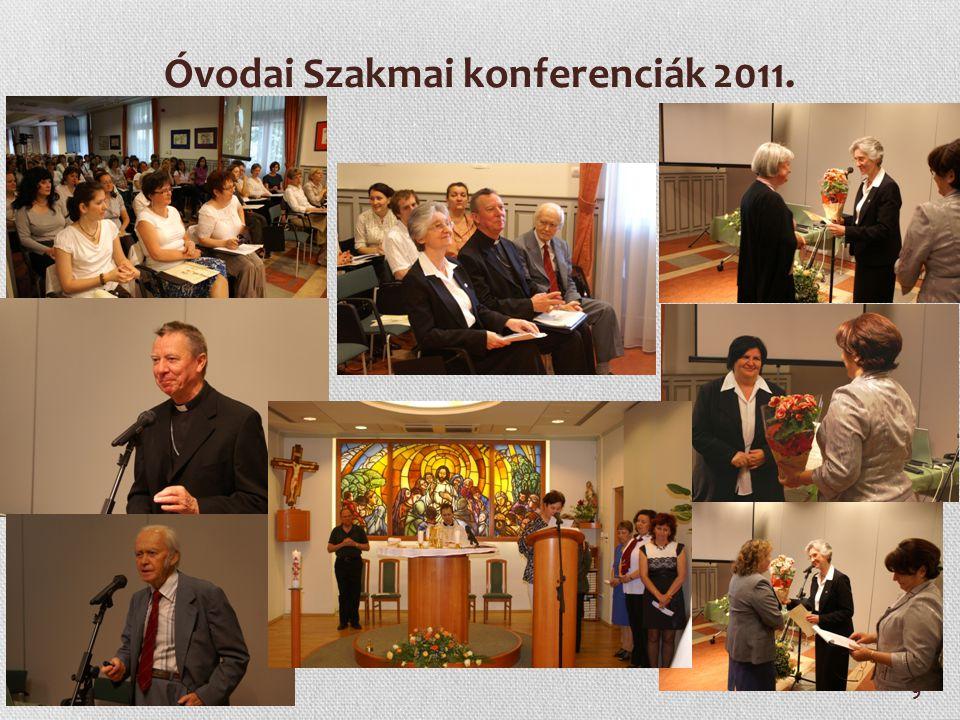 9 Óvodai Szakmai konferenciák 2011.