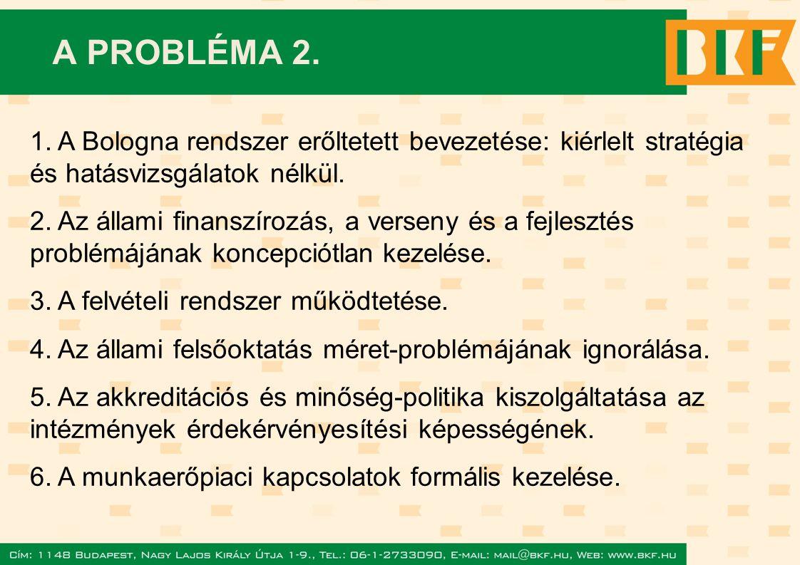 A PROBLÉMA 2. 1.