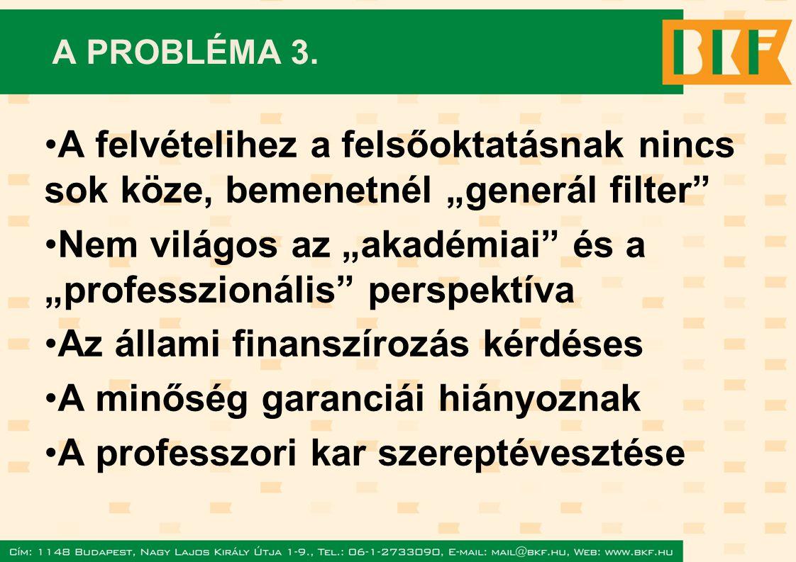 A PROBLÉMA 3.