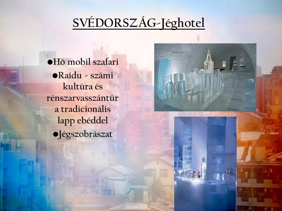 SVÉDORSZÁG-Jéghotel Hó mobil szafari Raídu - számi kultúra és rénszarvasszántúr a tradicionális lapp ebéddel Jégszobrászat