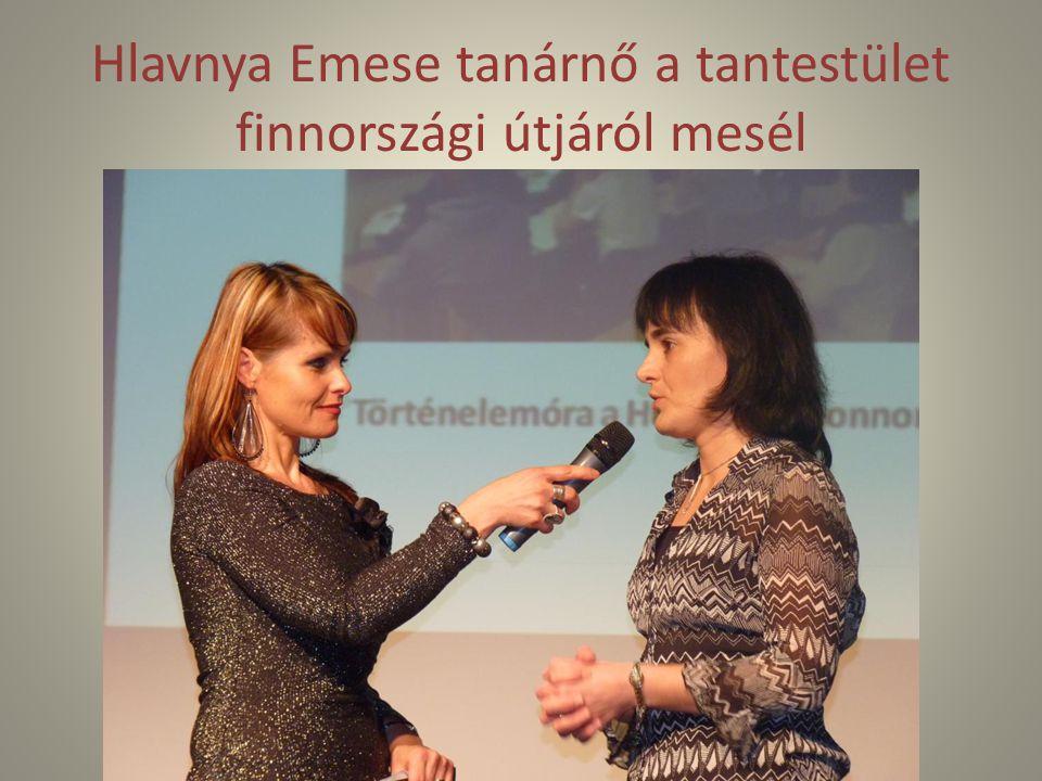 Hlavnya Emese tanárnő a tantestület finnországi útjáról mesél